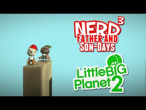 Nerd³'s Father and Son-Days - Dominoes! LittleBigPlanet 2