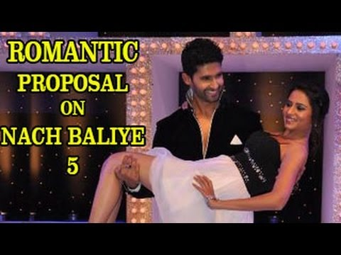 Watch NACH BALIYE 5 - Ravi Dubey PROPOSES Sargun ROMANTICALLY 9th February 2013 FULL EPISODE