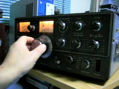 2008 WW-CW test 7MHZ monitor in japan / amature radio / by TS-520 TRIO