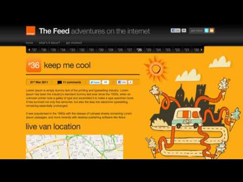 The Feed | keep me cool | Orange UK