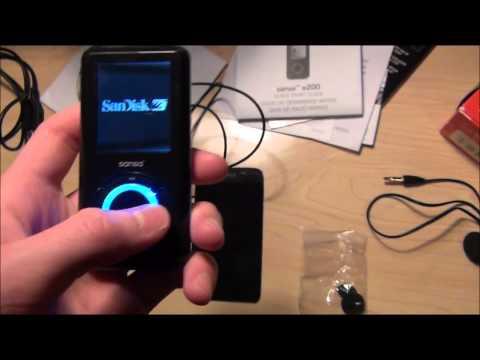 Sansa e250 MP3 Player Review