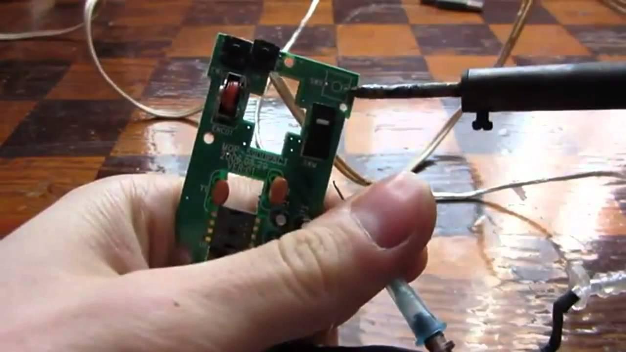 Ремонт беспроводной мышки для компьютера своими руками 2