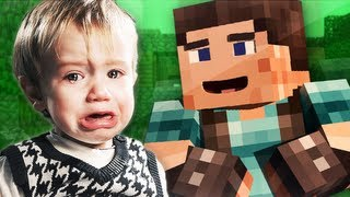 Little Kid TROLLED in Minecraft