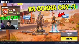 She CRIED when I bought her the Tier 100 Battle Pass! (Fortnite Battle Royale w/ Queeane)