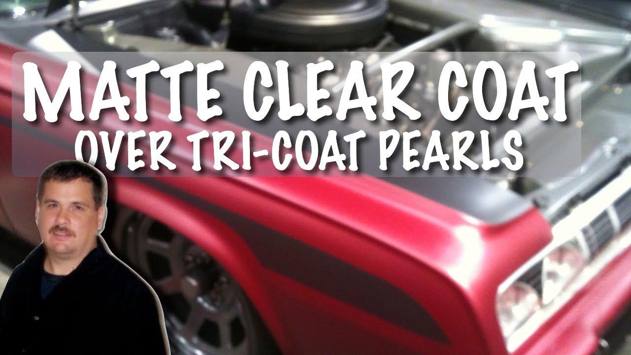 Matte Black Paint Clear Coat