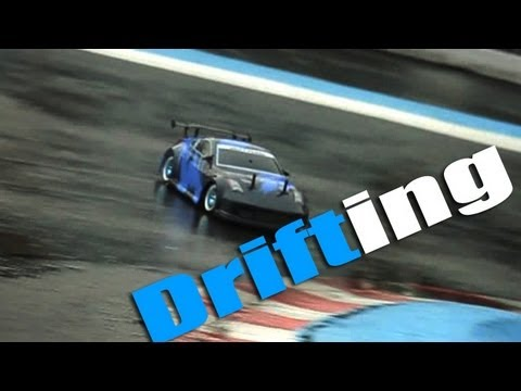 Exceed Madspeed 350z Rc Drift Car Rain Drifting