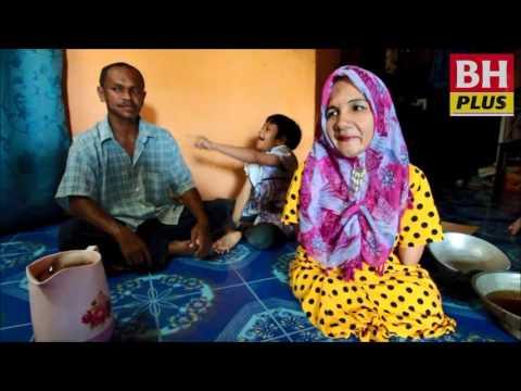 Wanita cacat kaki, tangan tabah besarkan 3 anak
