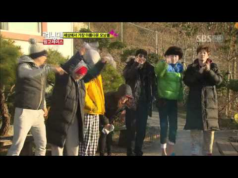 IU - You & I + Good day (��� - ��� + ���) @ SBS Running man ��맨 120115