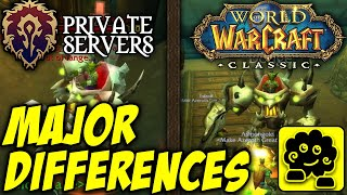 [Classic WoW] Beta vs Pservers: MAJOR Differences