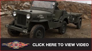 1953 Willys Jeep w/Trailer (SOLD)