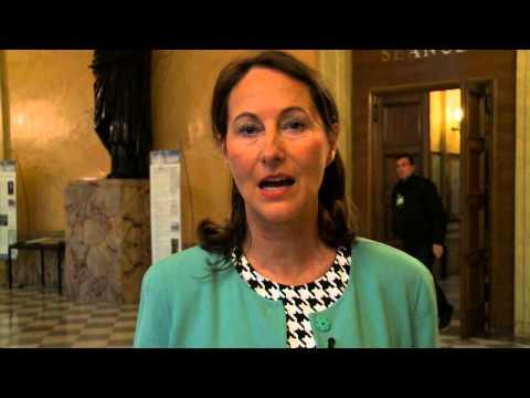 Message de Ségolène Royal, conclusion de la conférence Paysage après pétrole