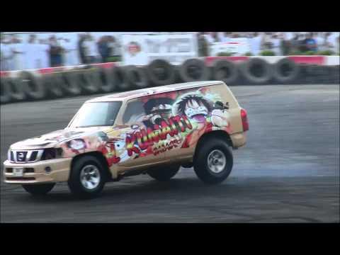 Tuned Nissan Patrol Drifting Hard - MEMTS 2012 Full HD!!!
