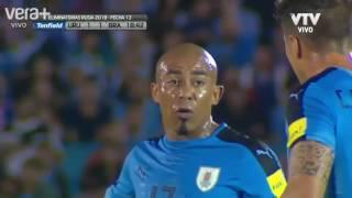 TV Uruguaia narrando jogo BRASIL x URUGUAI - Eliminatórias Rússia 2018