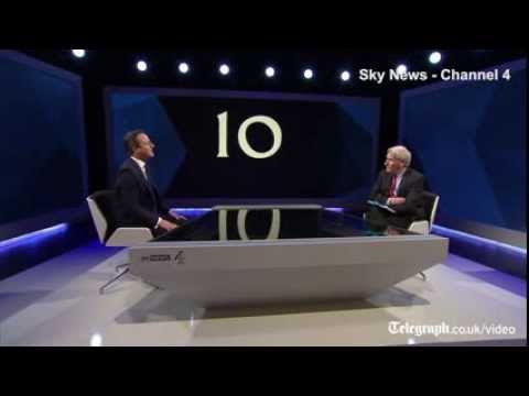 Election TV debate live: Ed Miliband & David Cameron interview highlights