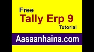 Learn Tally ERP 9 in Hindi TDS (tax deducted at source)