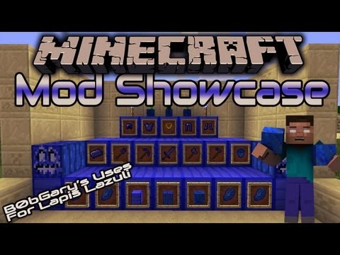 MineCraft MOD SHOWCASE   Uses For Lapis Lazuli Mod   1.5.2 w/ Download(B0bGary)