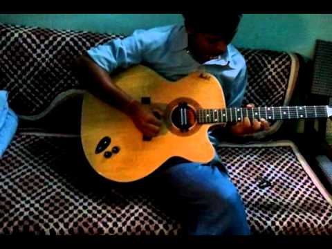 main teri aakhon main rahta hoon guitar Passion India
