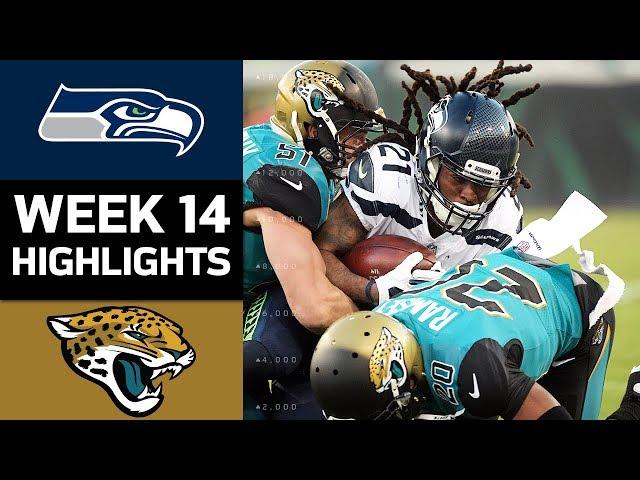 Seahawks vs. Jaguars  NFL Week 14 Game Highlights