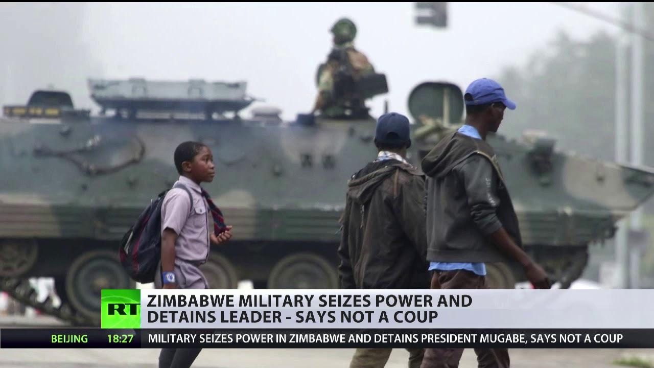 Zimbabwe military detains Mugabe but insists it's not a coup