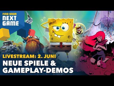 Findet euer nächstes Lieblingsspiel! Wir zeigen im Juni jeden Tag neue Spiele bei #FYNG