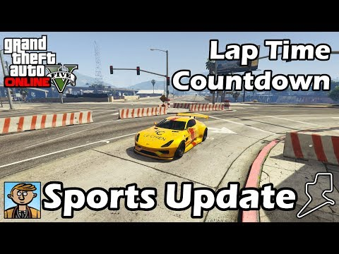 Fastest Sports Cars (After Smuggler's Run) - GTA 5 Best Fully Upgraded Cars Lap Time Countdown