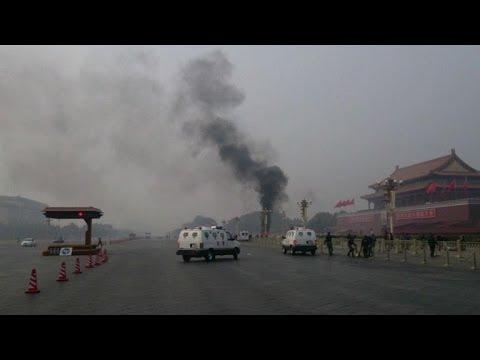 Three dead in Tiananmen Square car crash