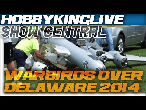 HobbyKing Live - Warbirds Over Delaware 2014. All the fun, all the crashes!