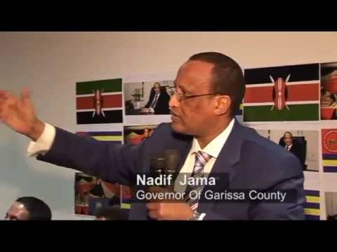 Garissa Governor Nathif Jama  & other Delegates from Kenya met Somali Diaspora in Australia