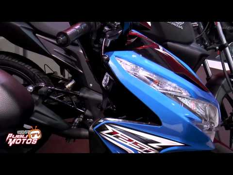 Honda presentó 6 nuevas motocicletas - salón del automóvil 2014