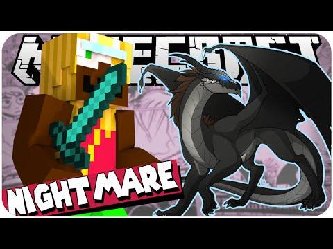 MINECRAFT: LUTANDO COM O NIGHTMARE! - Sobrevivendo com a Noob #11