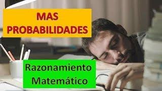 PROBABILIDADES RAZONAMIENTO Matemático NOMBRAMIENTO Docente