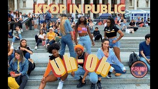 [KPOP IN PUBLIC CHALLENGE LONDON]  (G)I-DLE ((여자)아이들)) UH-OH DANCE COVER [KRUSH LDN]
