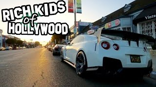 THE RICH KIDS OF HOLLYWOOD!!! 150+ SUPER CARS!!!