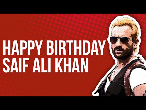 Happy Birthday Saif Ali Khan!