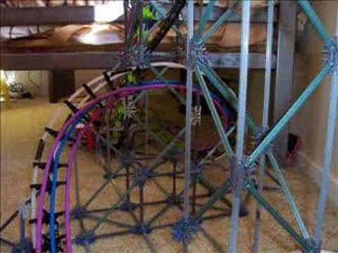 3rd Knex roller coaster