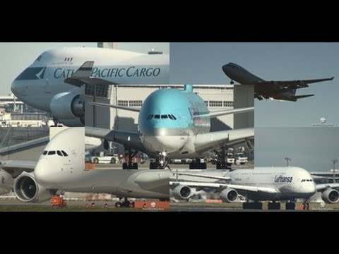 【Full HD】 2hour Spotting at Narita Airport January.10.2012 成田空港航空動画!!
