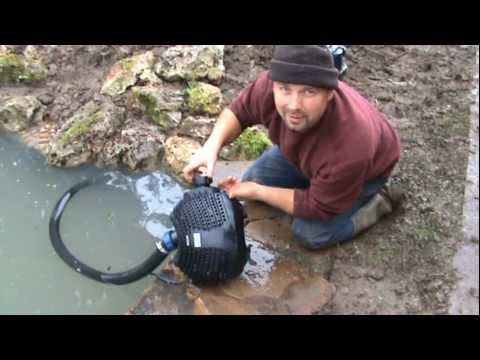 How to Build a Fish Pond Part 4 - Finished Pond