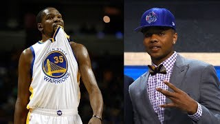 Kevin Durant Reacts to Markelle Fultz Going #1 in the NBA Draft, Fultz ALREADY Makes Rookie Mistake
