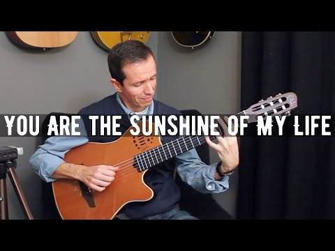 You Are the Sunshine of My Life (Stevie Wonder) - Solo Jazz Guitar