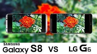 Samsung Galaxy S8 Vs LG G6 Camera Test