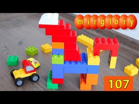 Машинки мультики - Пони из Лего - Город машинок 107 серия Развивающие мультфильмы для детей mirglory