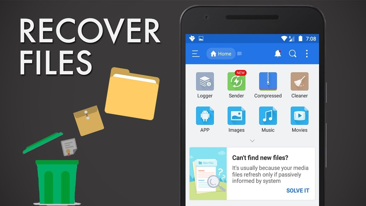 20 Any way to retrieve deleted photos from android