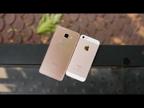 So sánh iPhone SE vs Samsung Galaxy A5 (2016)