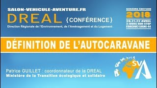 Définition de l'Autocaravane - DREAL2018 - EXTRAIT