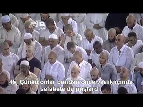 056 Vakia Suresi ibrahim Jibreen Türkçe Altyazılı Mealli