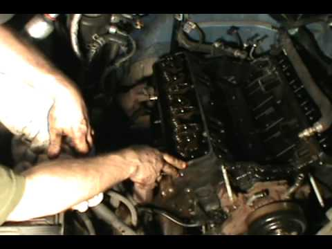 Part 2. Vortec 5.7 350 head gasket. water pump & timing chain replacement. Chevy/ GMC