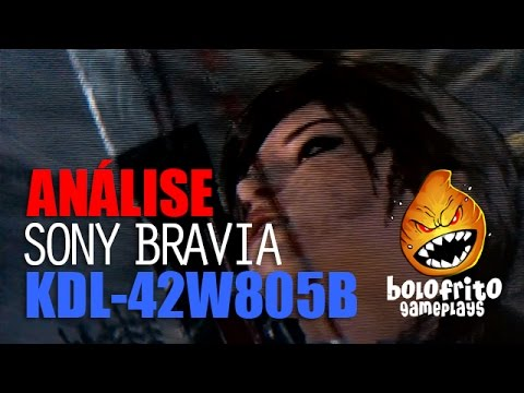 SONY BRAVIA KDL-42W805B - Review em Pt-Br (esp. jogos)