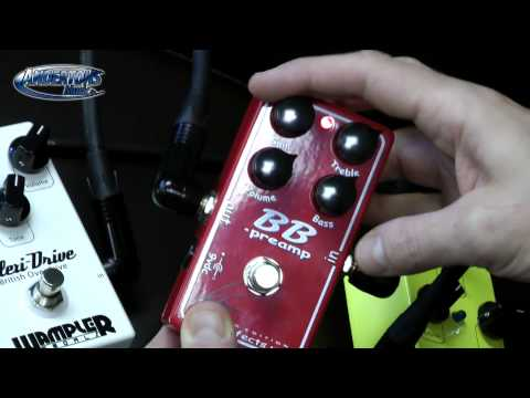 Wampler Pedals - Talent Booster, Plextortion&Plexi Drive (Plus the Xotic Andy Timmons BB)