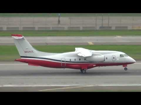 Cummins Inc. Fairchild Dornier Do-328 Jet Takeoff 30L | N804CE | Minneapolis International