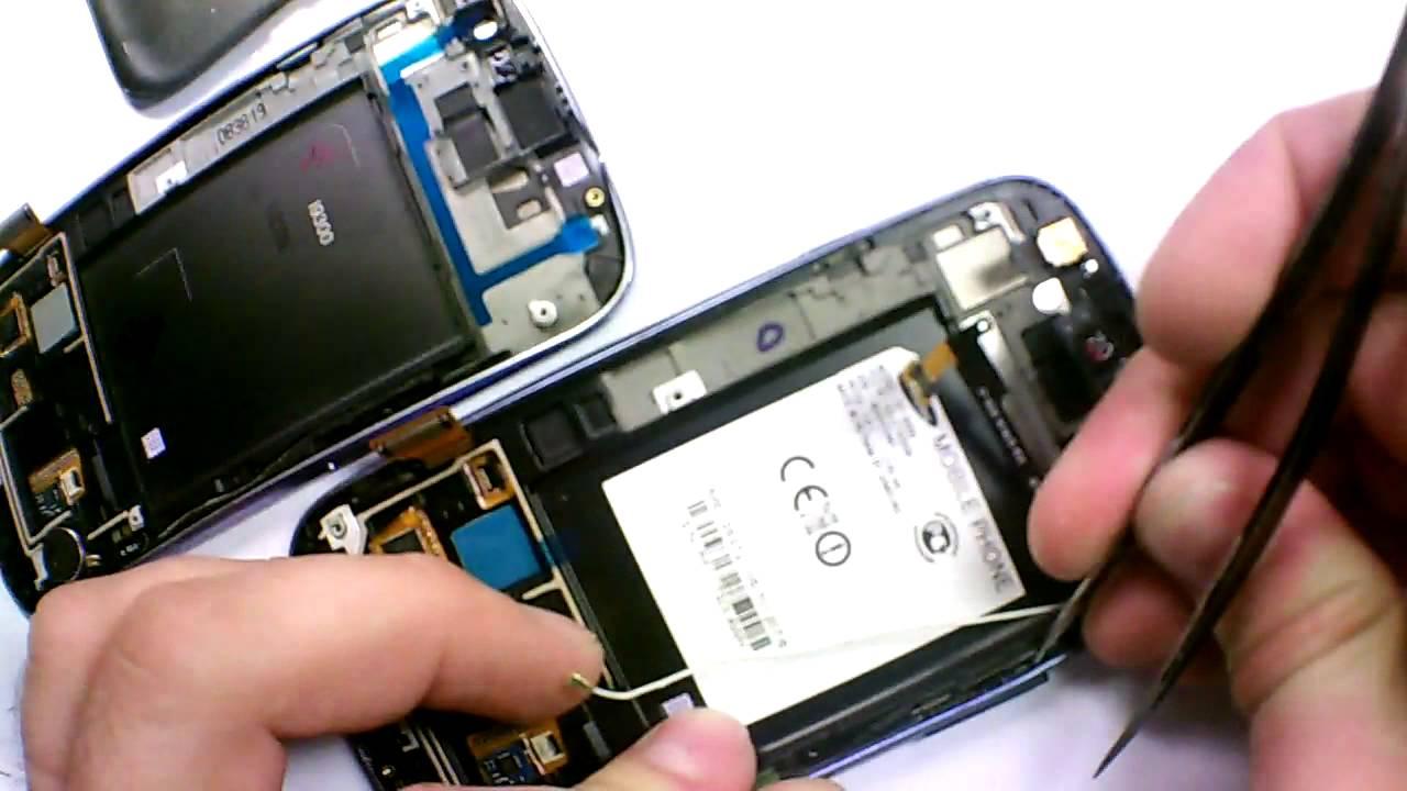 Особенности ремонта Samsung Galaxy S3 (Самсунг Галакси)
